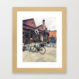 Old Factory  Framed Art Print