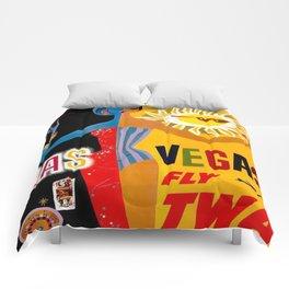 Lady Las Vegas Comforters