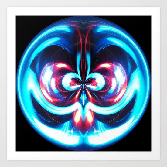 Sphere II  (Smiling) Art Print