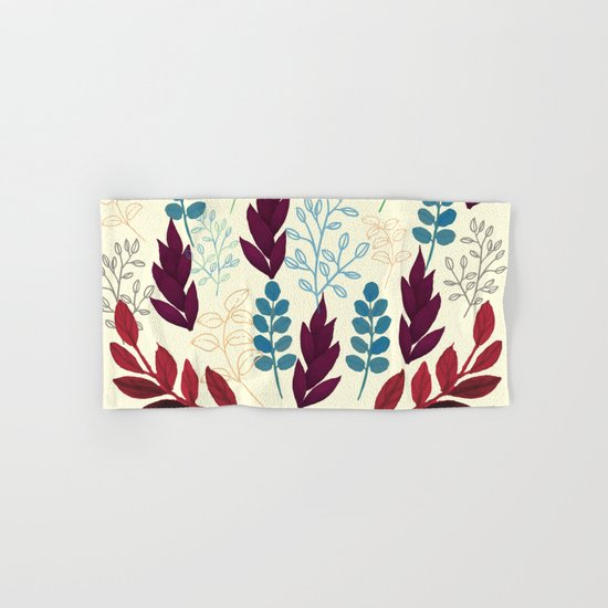 Floral Pattern #5 Hand & Bath Towel