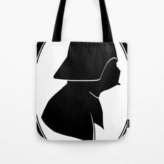 Dark Side Silhouette  Tote Bag