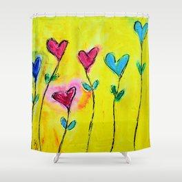 Amor de colores Shower Curtain