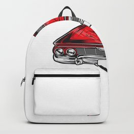 Car Vector Backpack