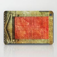 doors iPad Cases featuring Red Doors by davehare