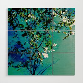 Spring Synthesis IV Wood Wall Art