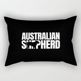 Australian Shepherd Breed Lover Rectangular Pillow