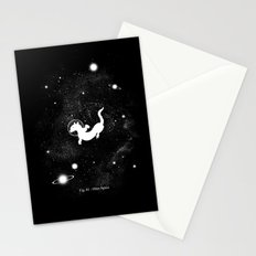 Otter Space Stationery Cards