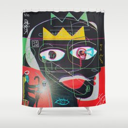JRNY: APOTHEOSIS Shower Curtain