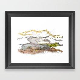 Landschaften 2 Framed Art Print
