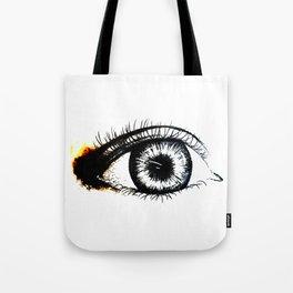 Looking In #1 - Original sketch to digital art Tote Bag