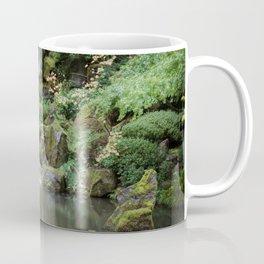 Portland Japanese Garden Waterfall Coffee Mug