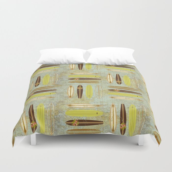 Surf Pattern 4 Duvet Cover