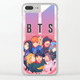 Fem BTS Selfie Clear iPhone Case