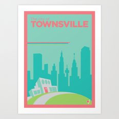 Welcome to Townsville Art Print