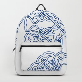 Chinese knot Pattern Backpack