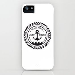 Anchor place iPhone Case