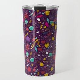 purple seeds Travel Mug
