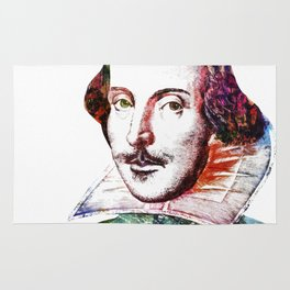 Graffitied Shakespeare Rug