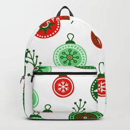 Christmas Decorations Pattern Backpack