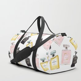 Classic Parfum Pattern Duffle Bag