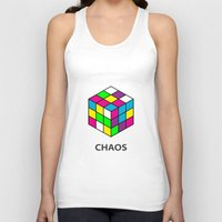 chaos Tank Tops featuring Chaos by Dizzy Moments