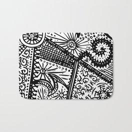 Swirly Doodle Bath Mat