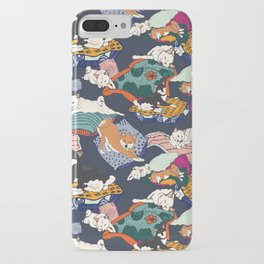Lounging Shibas iPhone Case