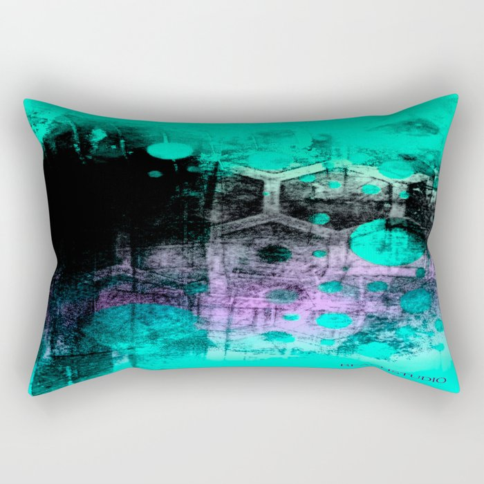 Mood Swing Rectangular Pillow