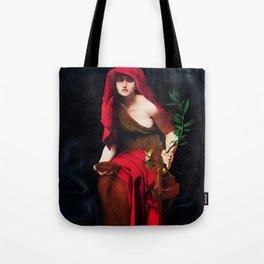 Copy of Priestess of Delphi - John Collier Tote Bag