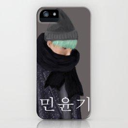 BTS SUGA - Min Yoongi iPhone Case