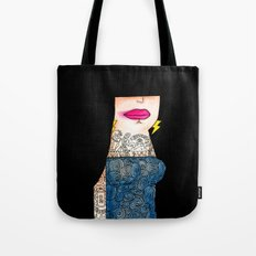 Black Mamba Tote Bag