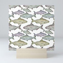 Fish in Ocean Mini Art Print