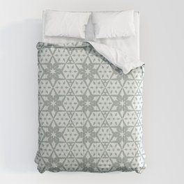 Stars and Hexagons Pattern - Ancient Stone Comforters