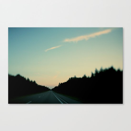 Northbound Canvas Print