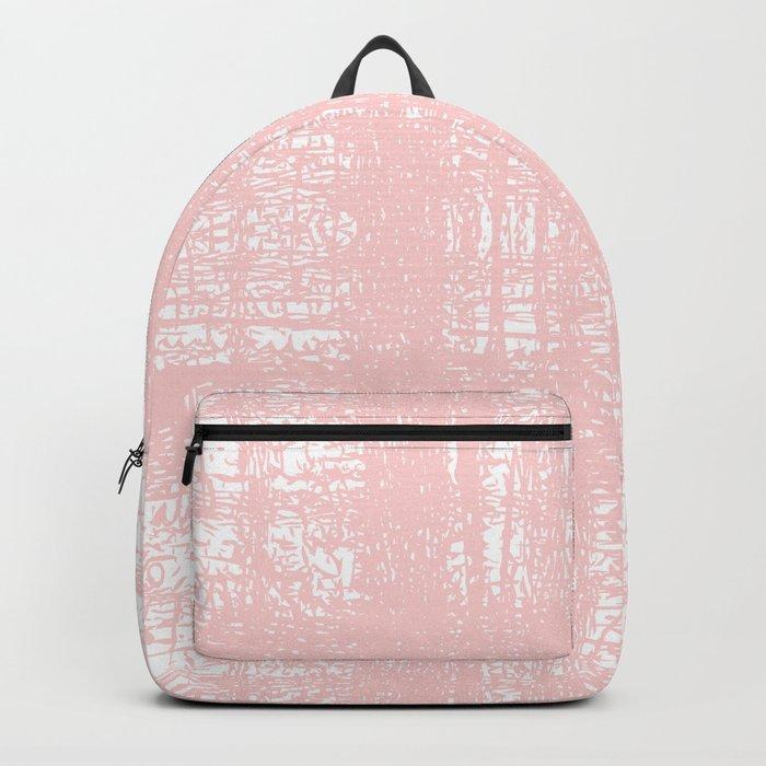 Pink Pastel Texture Rucksack