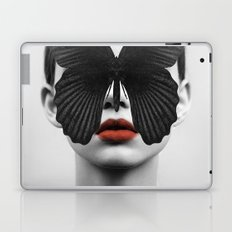 BLACK BUTTERFLY Laptop & iPad Skin