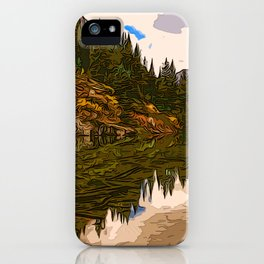 The Wonderful Maroon Bells in Autumn iPhone Case