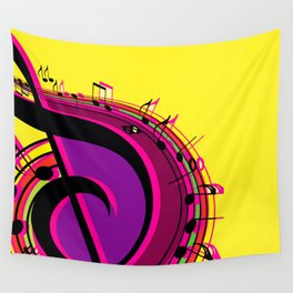 Musical Motivation Wall Tapestry