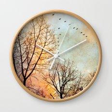 January Wall Clock
