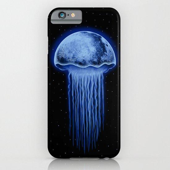 Moon Jellyfish iPhone & iPod Case