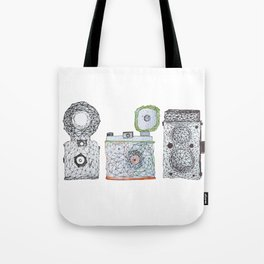 3 is a crowd Tote Bag