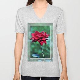 Withered Beauty (ROSE) Unisex V-Neck