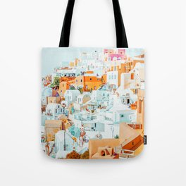 Santorini Vacay #photography #greece #travel Tote Bag