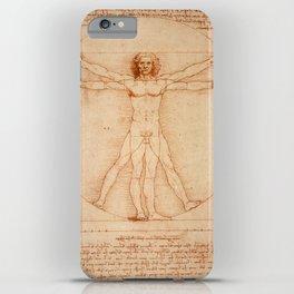 Vitruvian Man (Uomo Vitruviano) Leonardo da Vinci iPhone Case