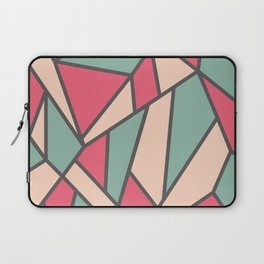 Geometric Colour Pattern V6 Laptop Sleeve