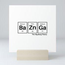 Bazinga Mini Art Print