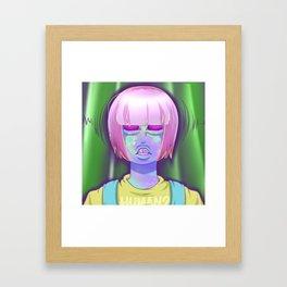 Lost Alien Framed Art Print