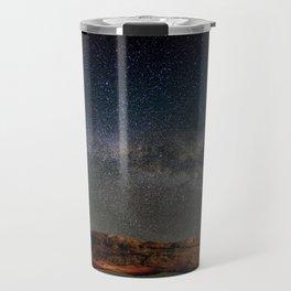 Starry Night Over Mesa Arch Travel Mug