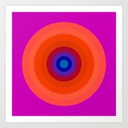 Lighter Bullseye Art Print