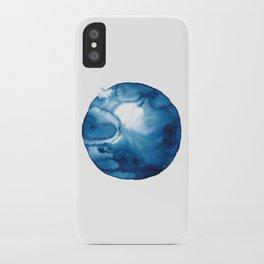 Blue winter #1 iPhone Case